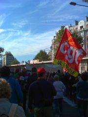 Manifestation Grenoble le 23 septembre 2010